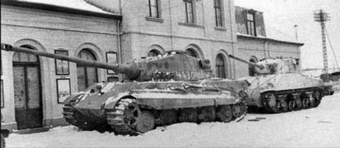 King tiger tank vs sherman - photo#6